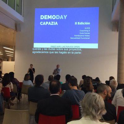 Demoday Capazia 2 Edición en Las Naves